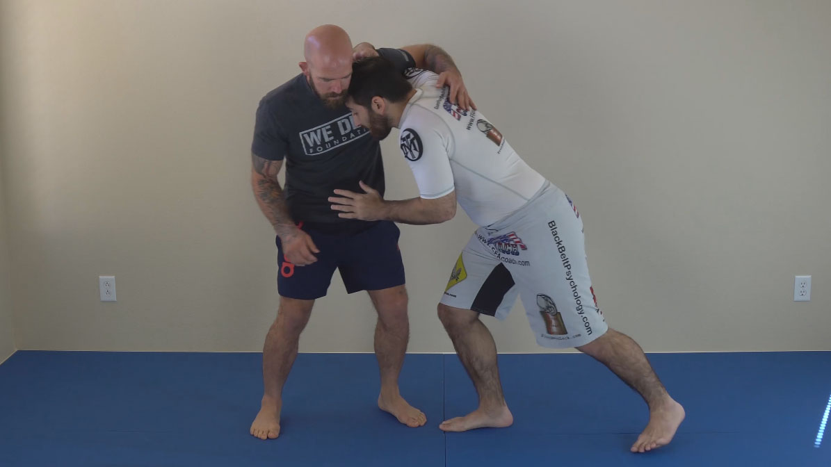 underhook position
